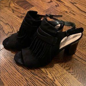 Via Spiga black suede heels, size 8.5M